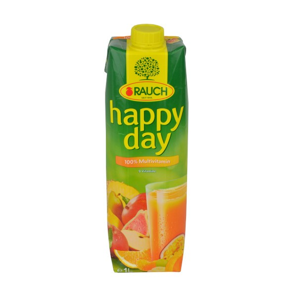 Multivitaminsaft 1L - (Rauch - happy day)