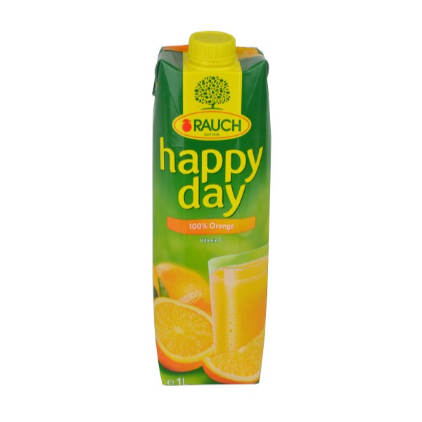 Orangensaft 1L - (Rauch - happy day)