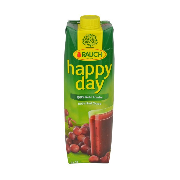 Traubensaft 1L - (Rauch - happy day)